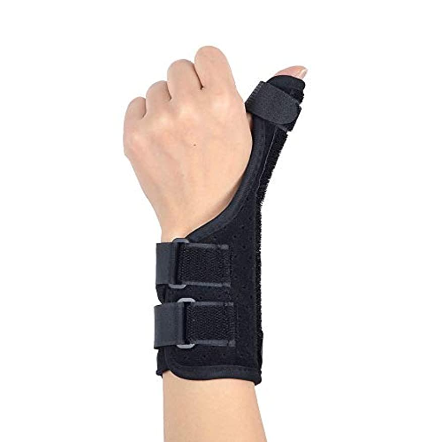 回る仕立て屋鹿ZYL-YL 腱鞘炎リストバンド親指捻挫骨折固定保護フォース腱鞘嚢胞母手首のサポート (Edition : Left)