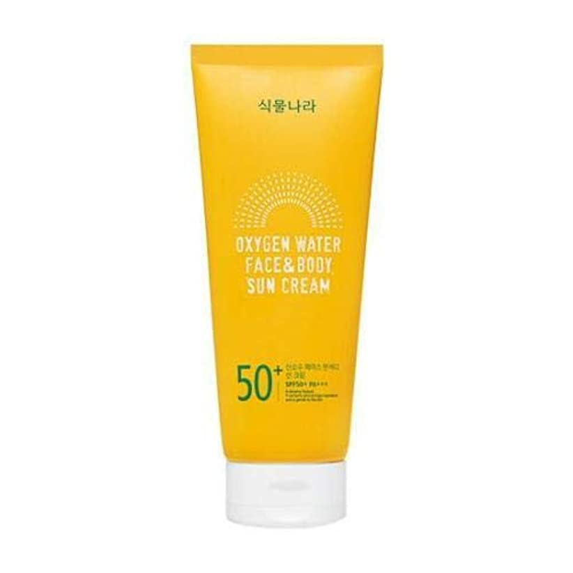 スマート一回破壊shingmulnara Oxygen Water Face & Body sun cream サンクリーム (200ml) SPF50+ PA+++