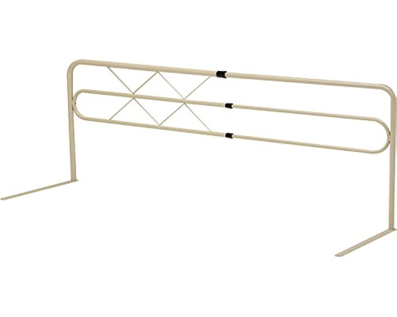 トリクル適度な効率的にベッドガード 左右スライド式 ブラウン MB-43 (ミトノ) (ベッド関連品)