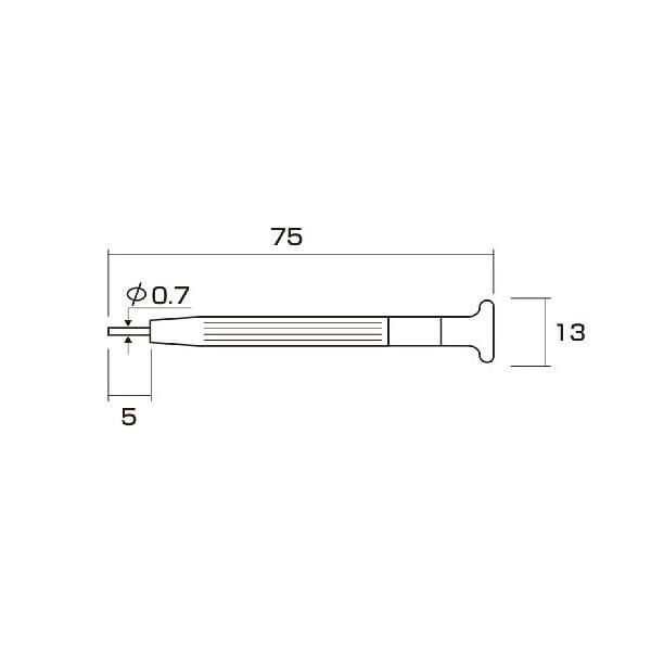 アネックス(ANEX) 時計バンドピン抜き工具...の紹介画像3