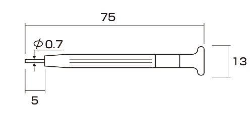 アネックス(ANEX) 時計バンドピン抜き工具 No.68