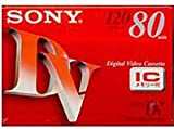 ソニー ミニデジタルビデオカセット DVM80RM3