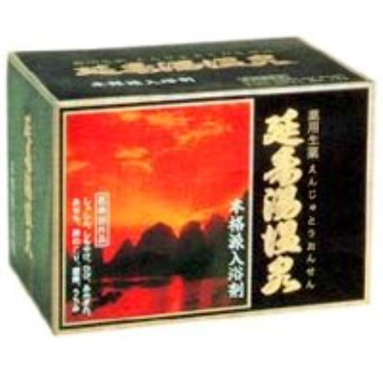 イソギンチャク頬開梱入浴剤 延寿湯温泉(えんじゅとう)12包入×3箱+5包おまけ 天然生薬配合 医薬部外品