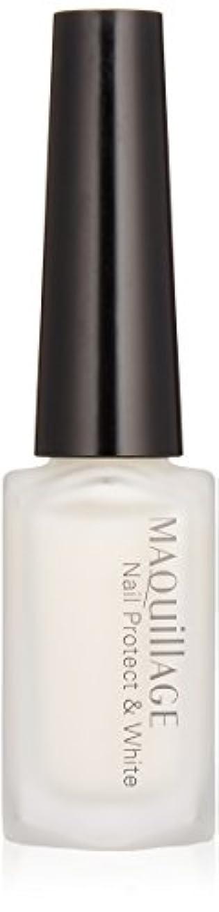 放射性着飾るビザマキアージュ ネールプロテクト&ホワイト 10mL