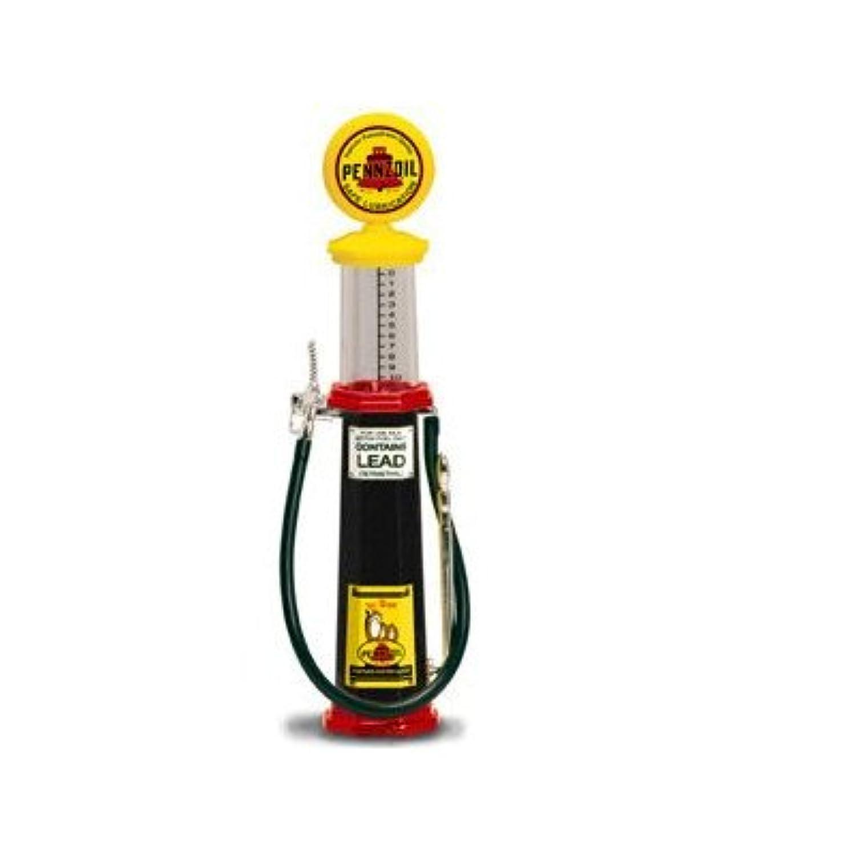 ガスポンプ 1/18 PENNZOIL 筒形 ペンズオイル GAS PUMP 世田谷ベース ガレージ雑貨