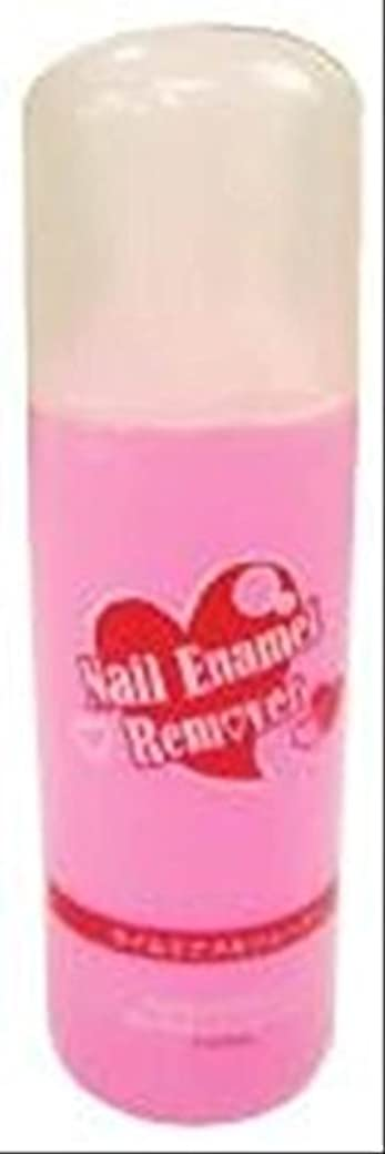 落ちたヘルシー恩恵ネイルエナメルリムーバー(ピンク) WS350P単品 (150ml, ピンク)