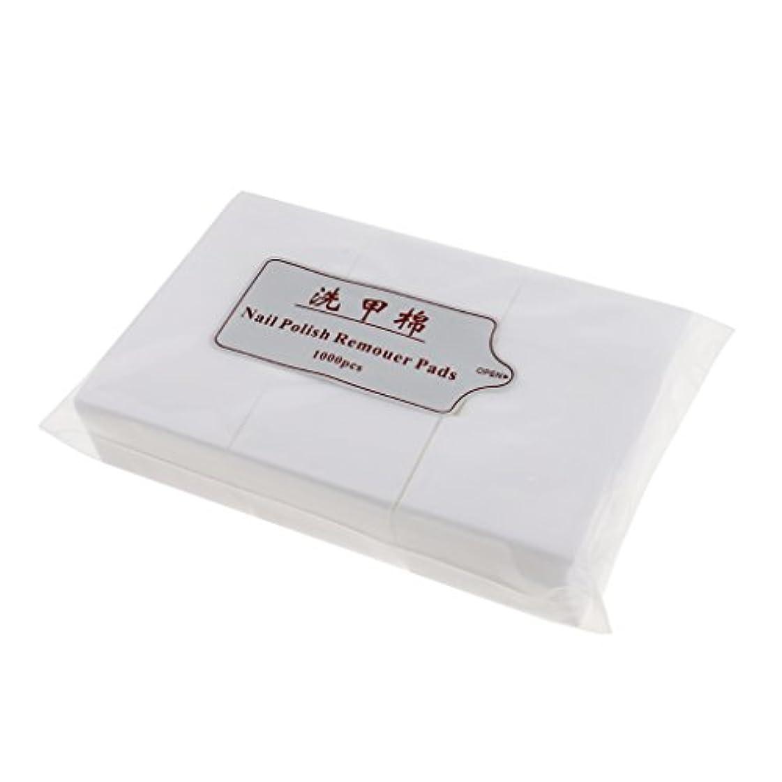 の配列剥離麻痺させるKesoto 約1000個 ネイルコットンパッド ソフト ネイルアート チップ マニキュア ポリッシュリムーバー クリーンワイプ 綿 パッド紙