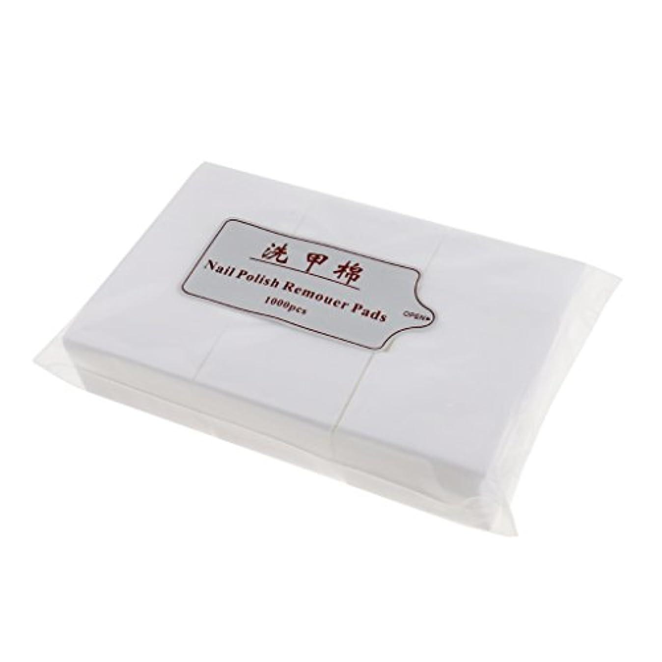 保全塩に向けて出発約1000個 ネイルコットンパッド ネイルアートチップ パッド紙 マニキュア 吸水性 衛生的 ネイルサロン