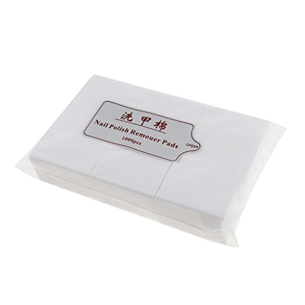 比類のないポーター安西約1000個 ネイルコットンパッド ネイルアートチップ パッド紙 マニキュア 吸水性 衛生的 ネイルサロン