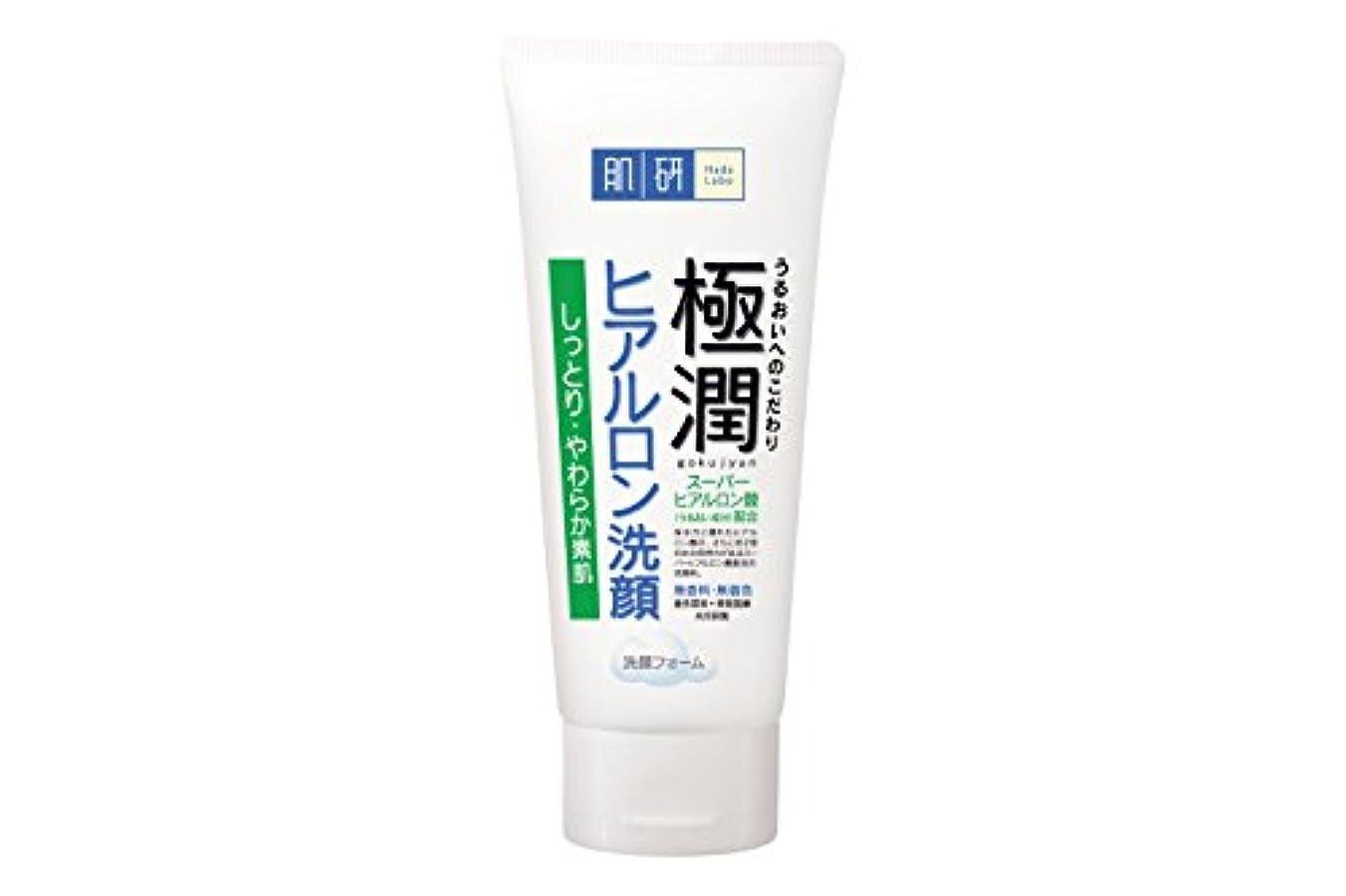 繊毛ホール信念肌研(ハダラボ) 極潤  ヒアルロン 洗顔フォーム 100g