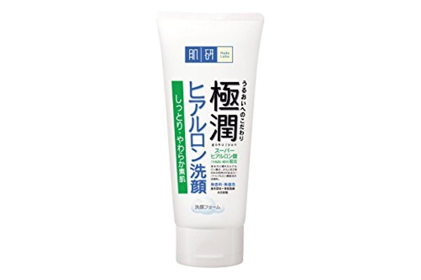 カナダ別のギャング肌研(ハダラボ) 極潤  ヒアルロン 洗顔フォーム 100g