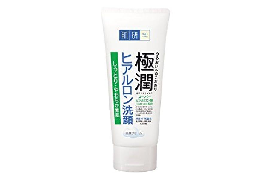 秘書優雅リブ肌研(ハダラボ) 極潤  ヒアルロン 洗顔フォーム 100g