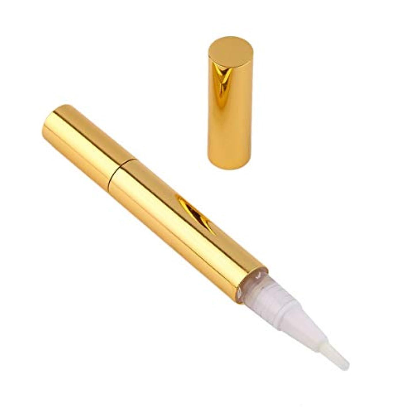認知いくつかの水没歯のホワイトニングペンの歯のジェルホワイトナー漂白剤の除去歯のジェルインスタント活性酸素バブル-黄色