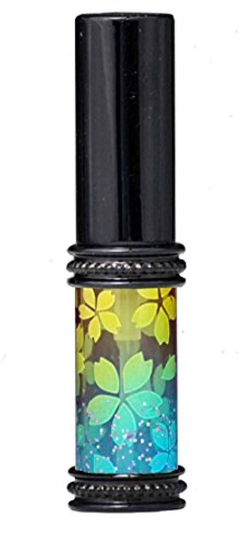 リレー指半ばヒロセアトマイザー メタルラメさくらアトマイザー 16178 YE/BL(メタルラメさくら イエロー/ブルー) 真鍮玉レット飾り付