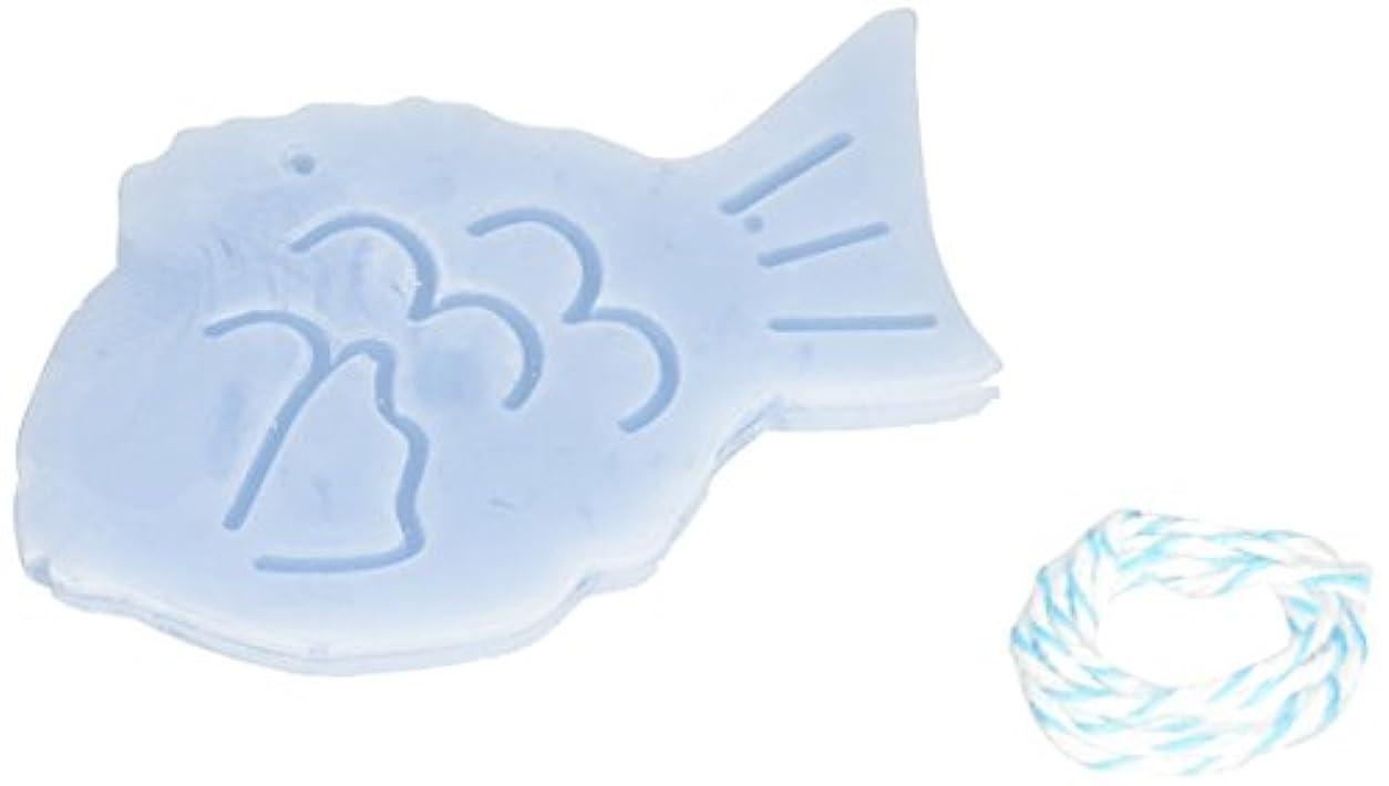 発表治安判事アレルギーGRASSE TOKYO AROMATICWAXチャーム「鯛」(BL) ローズマリー アロマティックワックス グラーストウキョウ