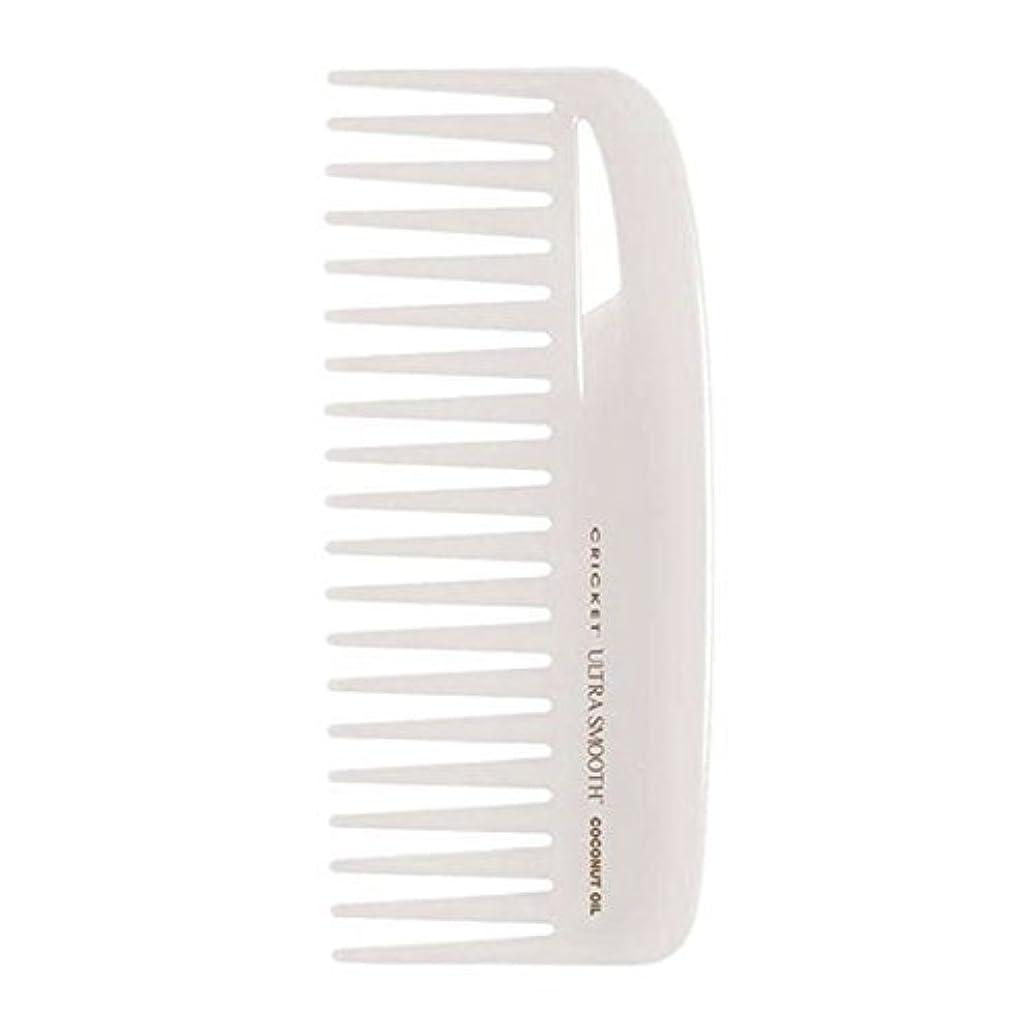 アスレチックあいまいな近くCricket Ultra Smooth Coconut Conditioning Comb, 1 Count [並行輸入品]