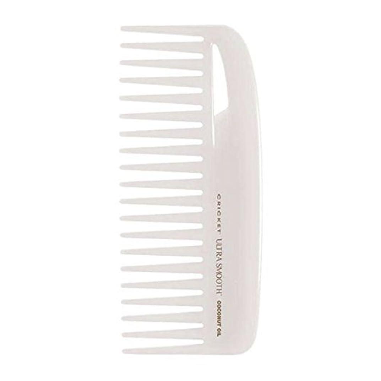 講師請求書ヨーロッパCricket Ultra Smooth Coconut Conditioning Comb, 1 Count [並行輸入品]