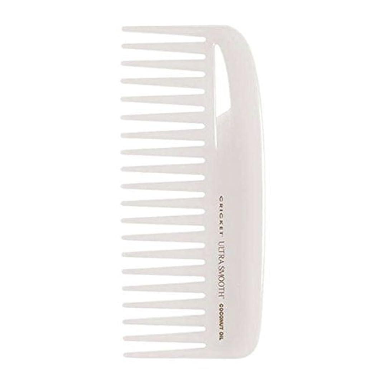 タオル震え永久にCricket Ultra Smooth Coconut Conditioning Comb, 1 Count [並行輸入品]
