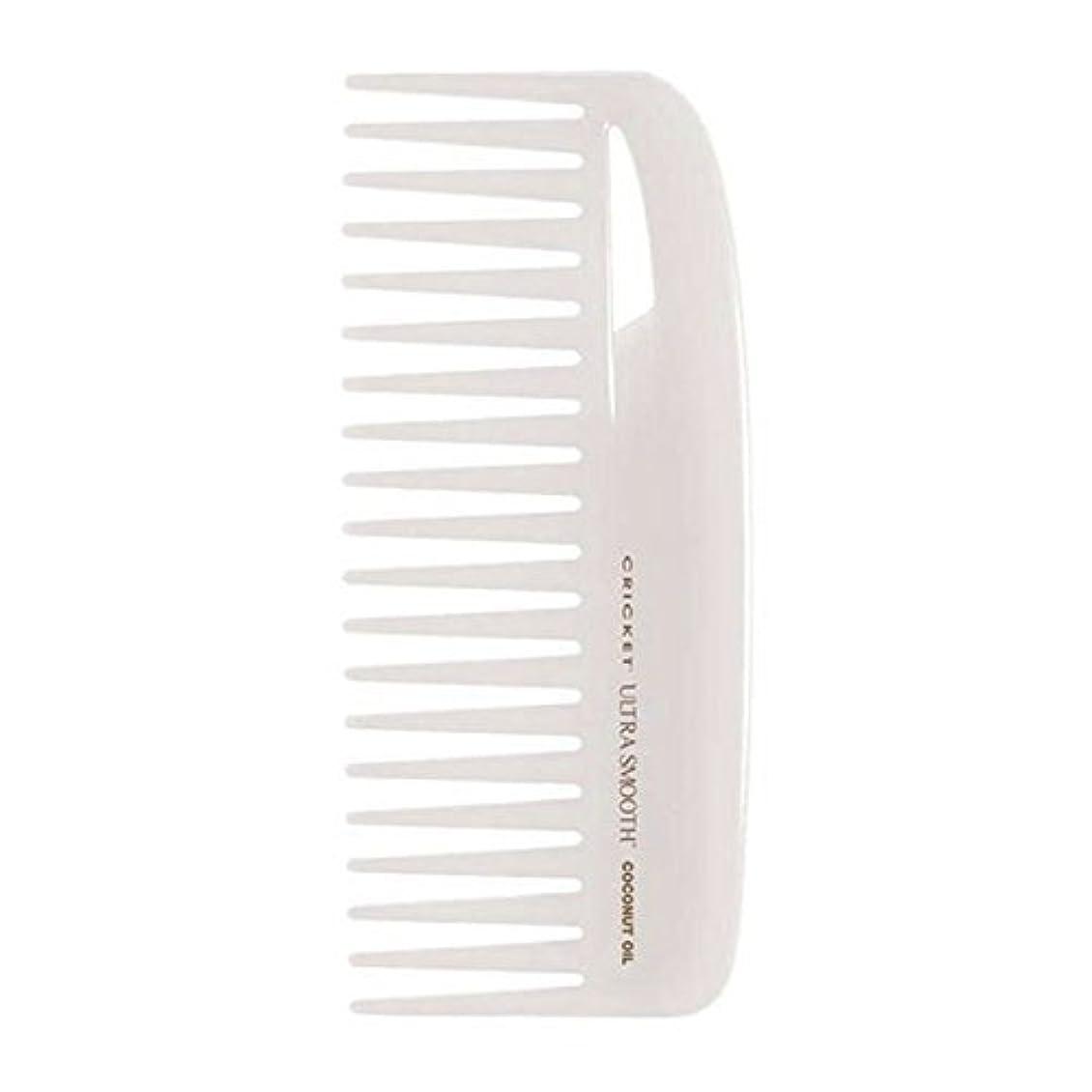 離れた拘束する蒸留するCricket Ultra Smooth Coconut Conditioning Comb, 1 Count [並行輸入品]