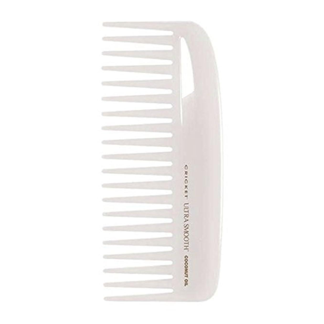 略奪ルーチン殺すCricket Ultra Smooth Coconut Conditioning Comb, 1 Count [並行輸入品]