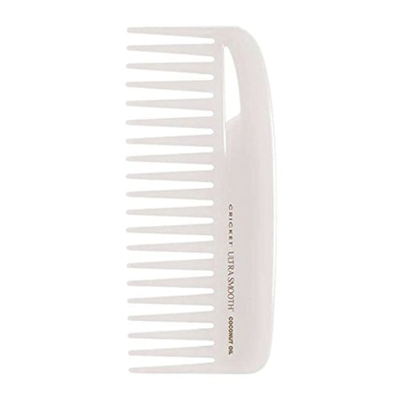 決定的虚弱ファッションCricket Ultra Smooth Coconut Conditioning Comb, 1 Count [並行輸入品]