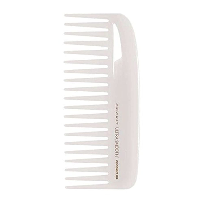 探す思いやり水没Cricket Ultra Smooth Coconut Conditioning Comb, 1 Count [並行輸入品]