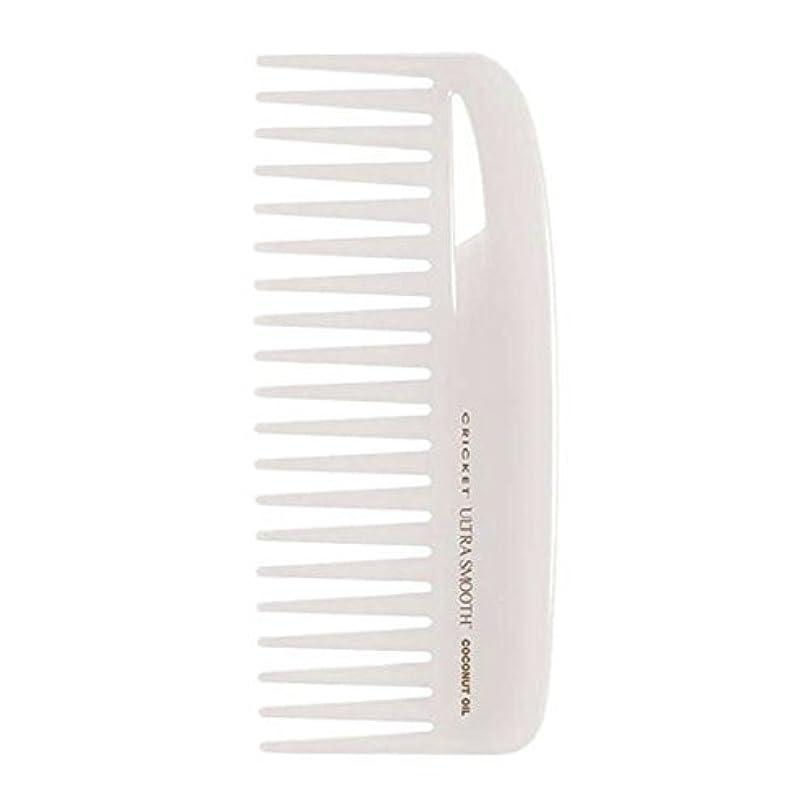 慢性的レディ反毒Cricket Ultra Smooth Coconut Conditioning Comb, 1 Count [並行輸入品]