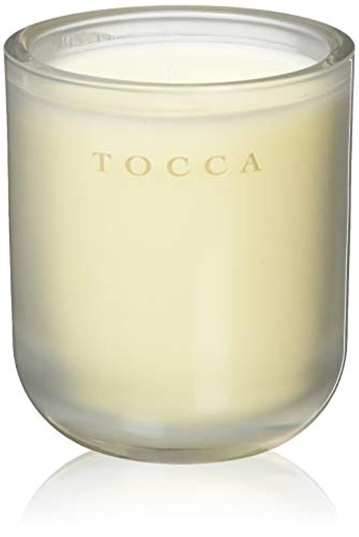 テロリストレルム怠なTOCCA(トッカ) ボヤージュ キャンドル バレンシア 287g (ろうそく 芳香 オレンジとベルガモットのフレッシュシトラスな香り)
