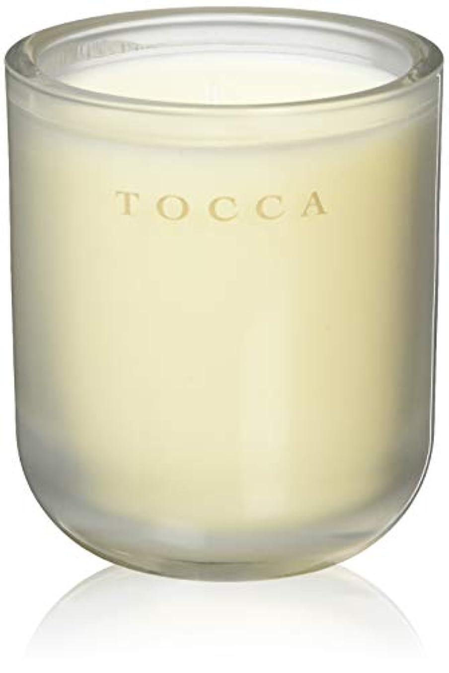 メロドラマティックやむを得ない喜びTOCCA(トッカ) ボヤージュ キャンドル バレンシア 287g (ろうそく 芳香 オレンジとベルガモットのフレッシュシトラスな香り)