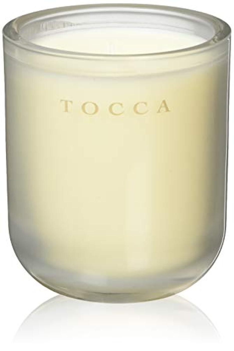 奨励全員硬化するTOCCA(トッカ) ボヤージュ キャンドル バレンシア 287g (ろうそく 芳香 オレンジとベルガモットのフレッシュシトラスな香り)