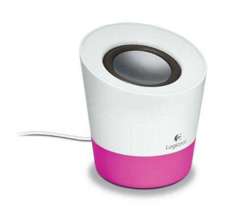 [해외]로지텍 멀티미디어 스피커 z50 핑크 Z50PK/Logitech multimedia speaker z50 pink Z50PK