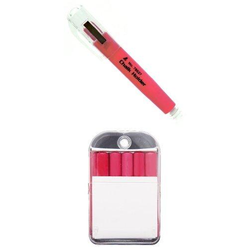 [해외]신와 측정 분필 홀더 분필 세트 레드/Shinwa Measurement Chalk holder and choke set Red