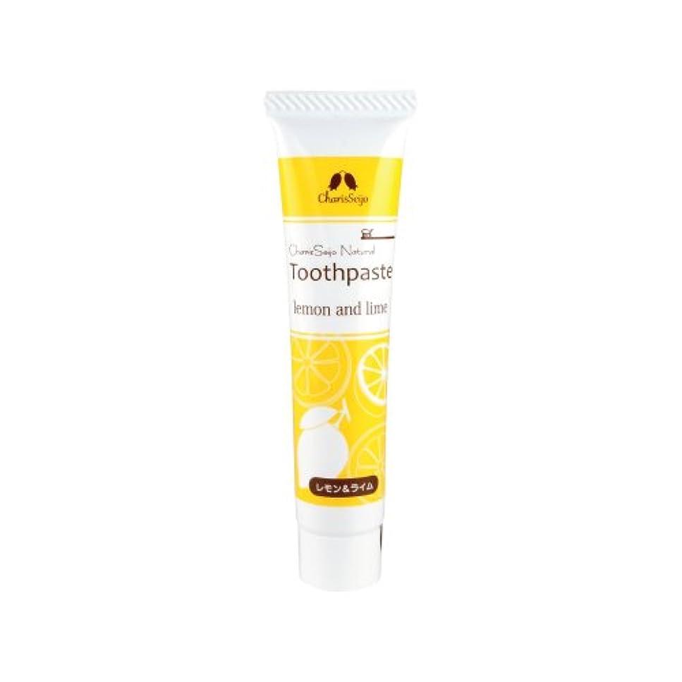 性能吸う合併カリス ナチュラルトゥースペースト レモン&ライム 20g キシリトール配合