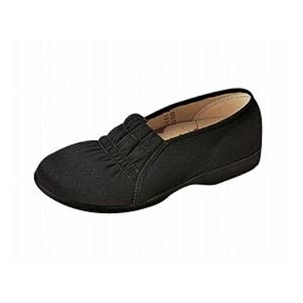 ムーンスター らくらく L003 婦人用 /24.0cm Cブラック ファッション 靴 シューズ その他の靴 シューズ 14067381 [並行輸入品]