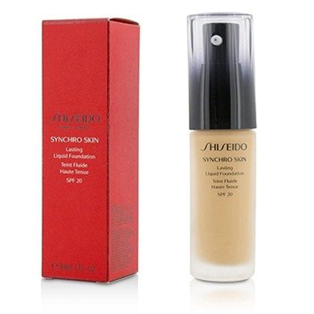 フレームワーク熱望する剃る[Shiseido] Synchro Skin Lasting Liquid Foundation SPF 20 - Rose 4 30ml/1oz