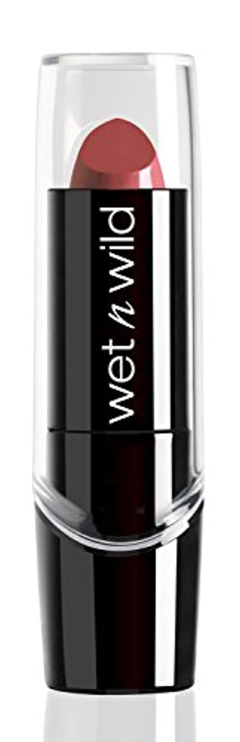 ディベート絡まるフォークWET N WILD New Silk Finish Lipstick Blushing Bali (並行輸入品)