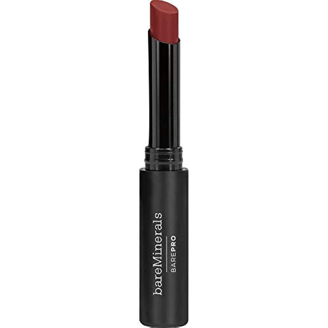 不完全一般的に言えば筋[bareMinerals] ベアミネラルBarepro Longwear口紅の2グラムのナツメグ - bareMinerals BarePro Longwear Lipstick 2g Nutmeg [並行輸入品]