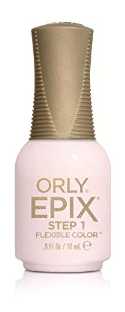 クラウン落花生減らすOrly Epix Flexible Color Lacquer - Hollywood Ending - 0.6oz / 18ml