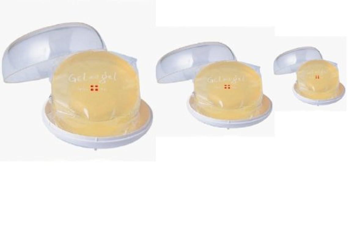 くぼみソーダ水かみそりゲルアンドゲル トリプルA MDソープ 3個セット