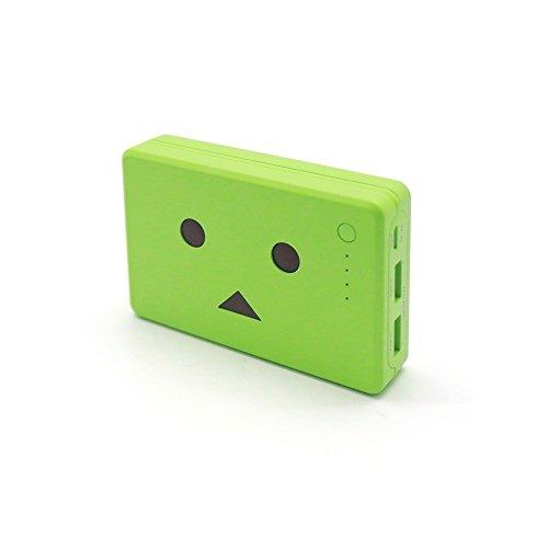 cheero Power Plus 10050mAh DANBOARD 大容量かつコンパクト モバイルバッテリー iPhoneAndroid対応 2ポート Auto-IC機能搭載 (ヨツバ) CHE-066-YO