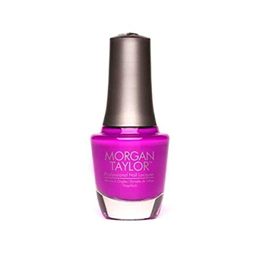 法廷受動的生きているMorgan Taylor - Professional Nail Lacquer - Shock Therapy - 15 mL / 0.5oz