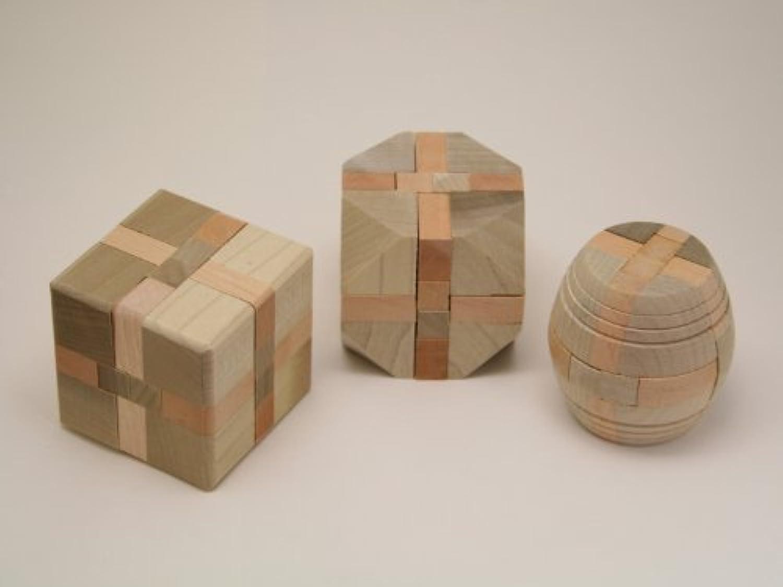 組木パズル 3個セット