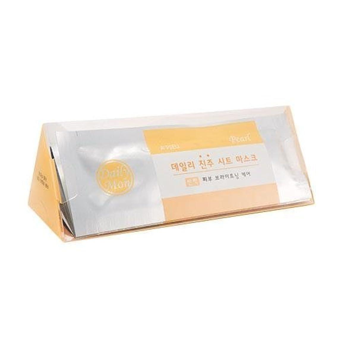 相対サイズ牧師人工的なAPIEU Daily Pearl Sheet Mask (7EA)/ Made in Korea