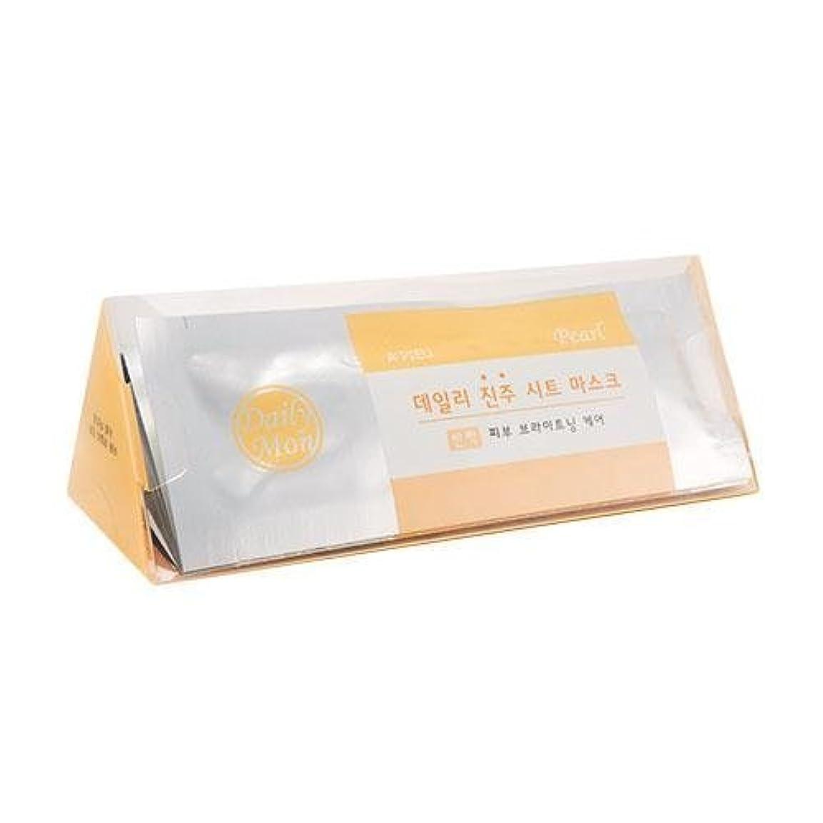 忘れる害コレクションAPIEU Daily Pearl Sheet Mask (7EA)/ Made in Korea