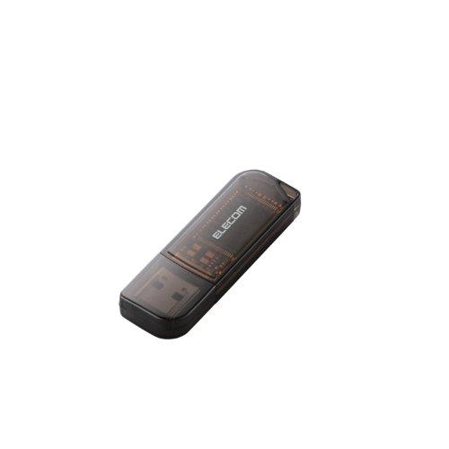 エレコム USBメモリ 16GB USB2.0 mac対応 ストラップホール付 ブラック ドラゴンクエストX 動作確認済み MF-HMU216GBK