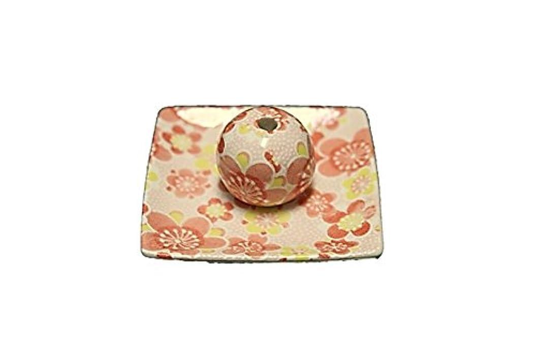 ペパーミント溢れんばかりの心臓小春 小角皿 お香立て 陶器 ACSWEBSHOPオリジナル