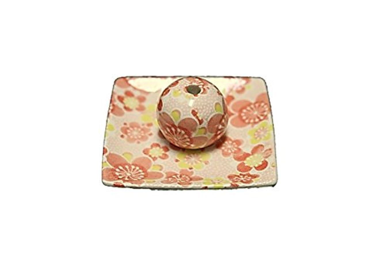 質素な忠実にバイオレット小春 小角皿 お香立て 陶器 ACSWEBSHOPオリジナル