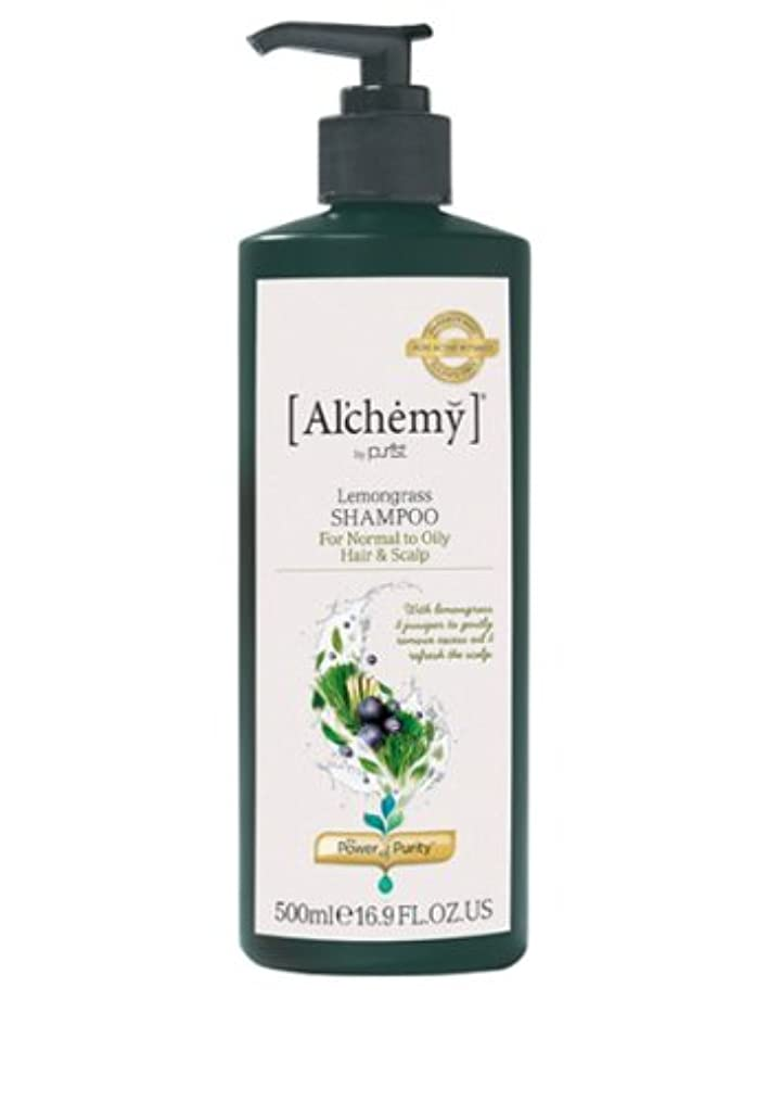 上昇過剰文字通り【Al'chemy(alchemy)】アルケミー レモングラスシャンプー(Lemongrass Shampoo)(オイリー髪用)お徳用500ml