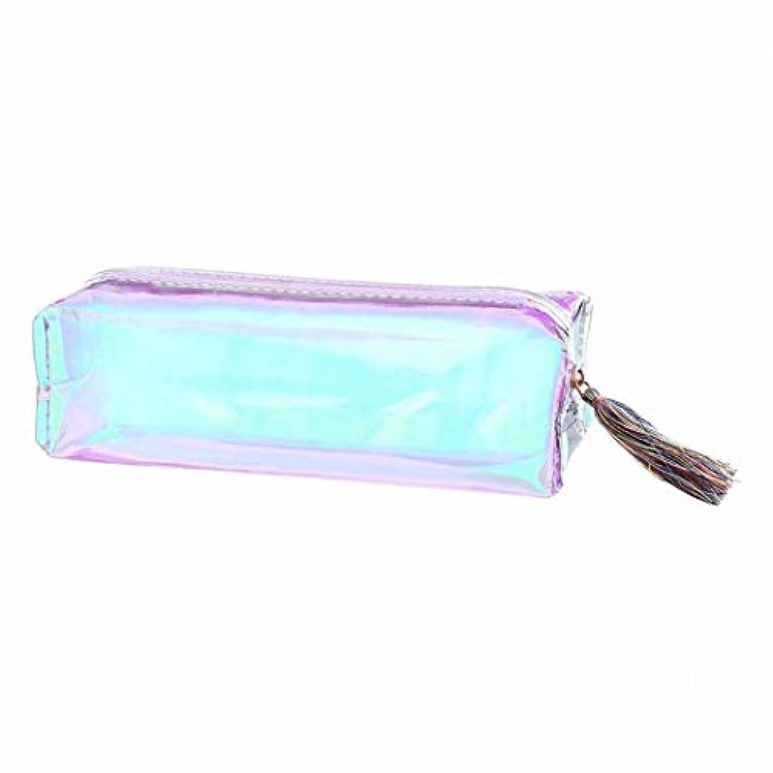 七里の香 大容量の文房具の鉛筆のペンケースの化粧品袋のジッパーの袋の財布