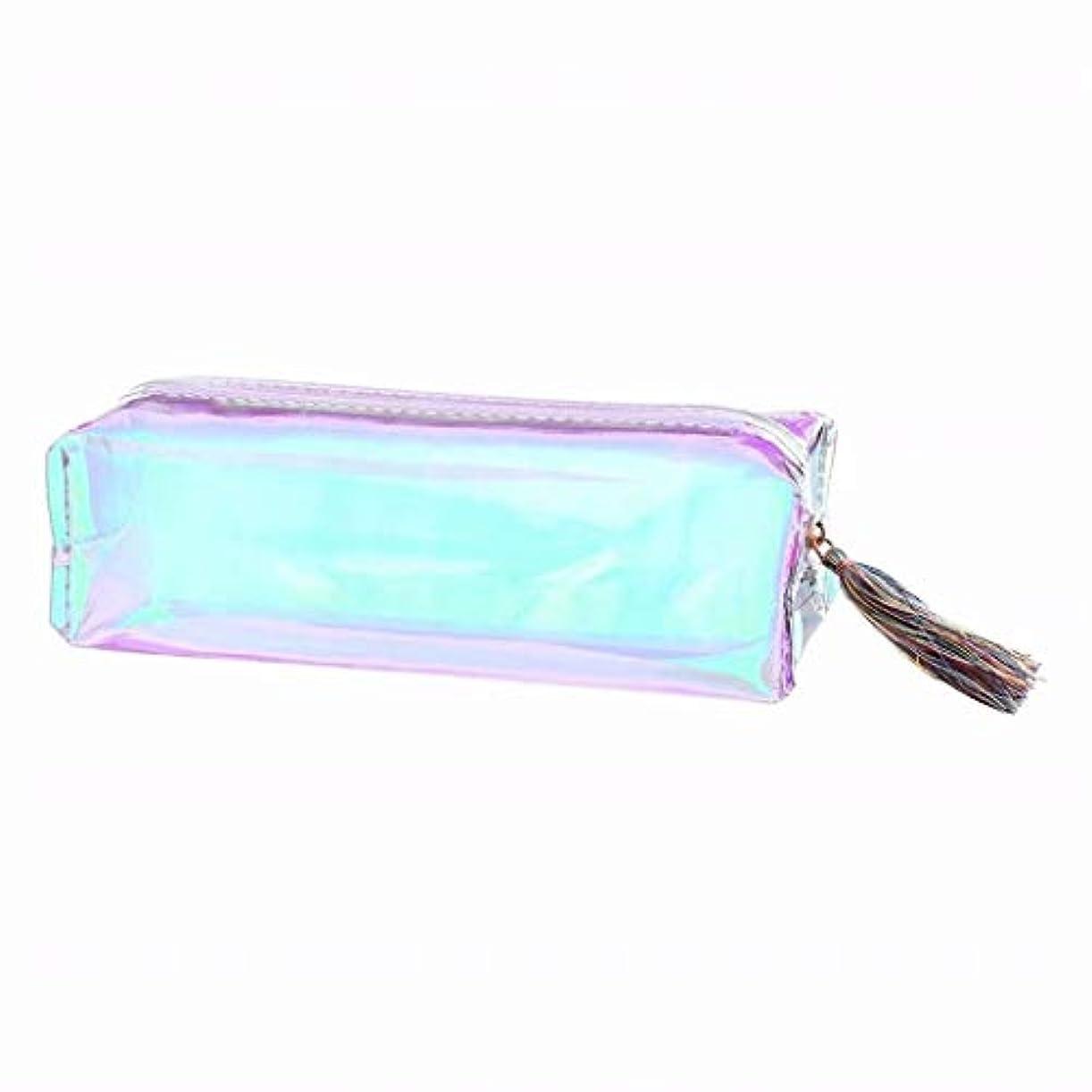 ケーブルカーおそらく単調な七里の香 大容量の文房具の鉛筆のペンケースの化粧品袋のジッパーの袋の財布